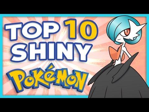 Top 10 Shiny Pokemon