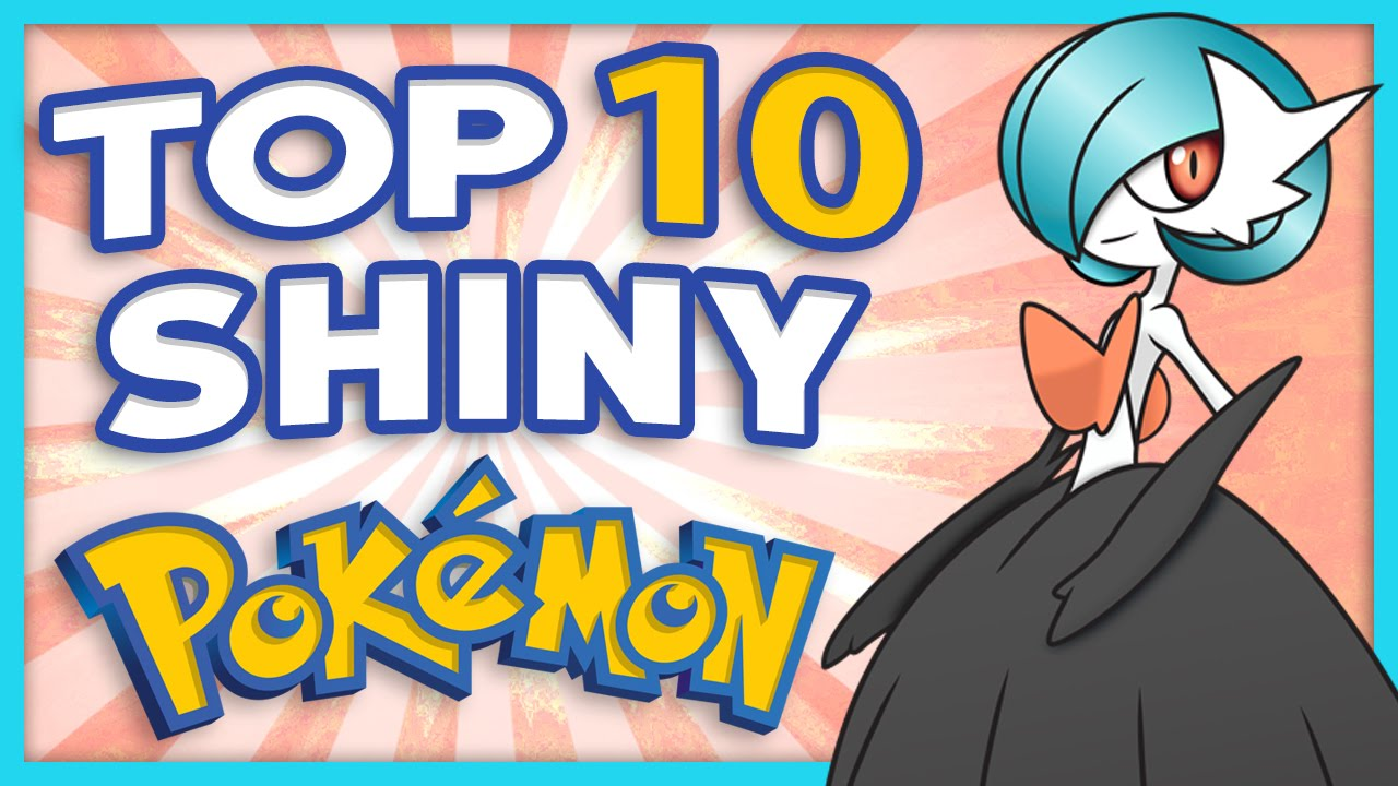 top 10 shiny pokemon youtube. Black Bedroom Furniture Sets. Home Design Ideas