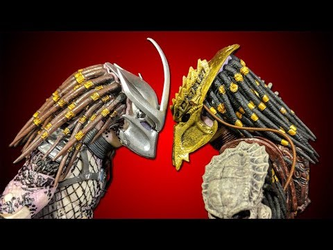 NECA: Predator: Ultimate Bad Blood vs Enforcer 7-inch Action Figure Review