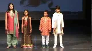 Ganpati Stotra and Marathi Poem recital by Darpan and his friends at CMA-2013