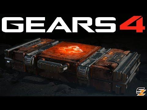 Gears of War 4 Gear Packs - Opening 15 SKORGE EMERGENCE PACKS!