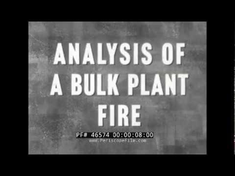 1960 KANSAS CITY BULK PLANT FIRE DISASTER PETROLEUM REFINERY ACCIDENT 46574
