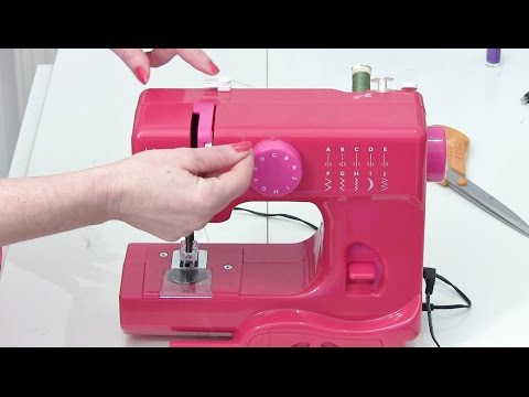 NEW How to thread a sewing machine - Mini JL Janome