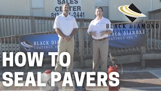 How to Seal Pavers