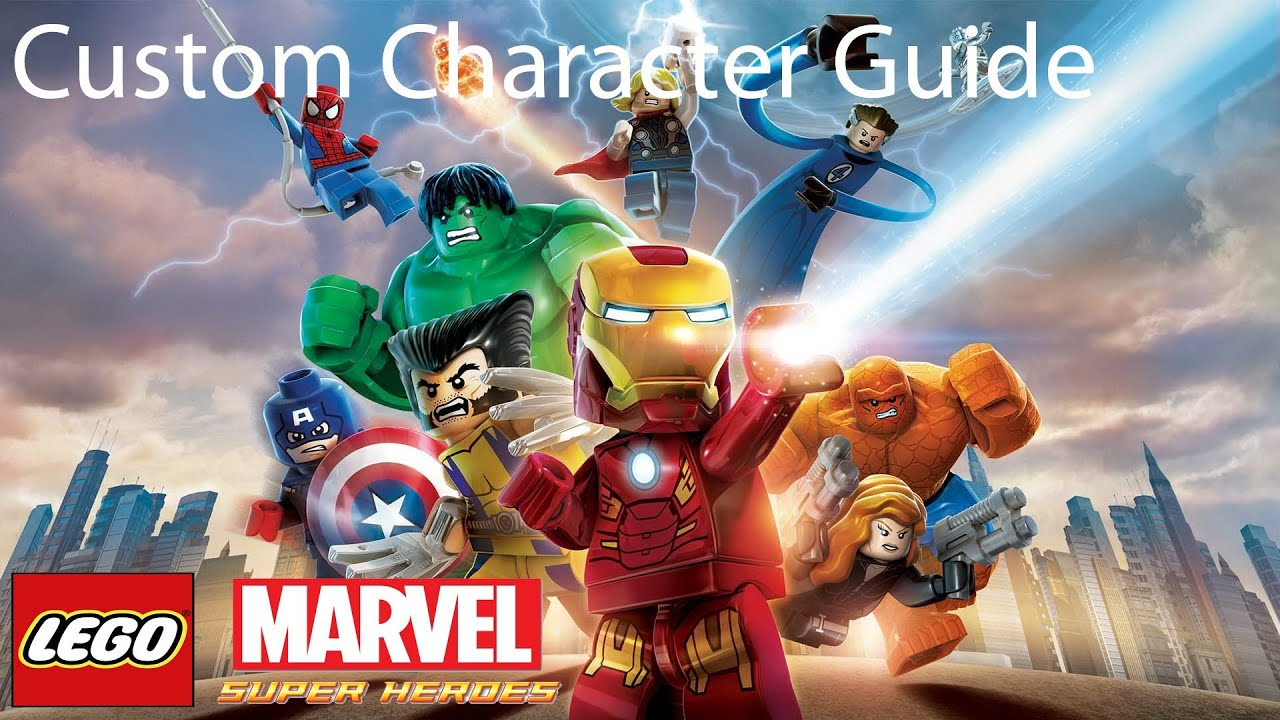 Lego Marvel Super Heroes Custom Character (Cosplay ...