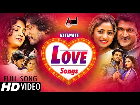 Ultimate Love Songs Of - 2016 | Kannada Full HD Video Songs JukeBox | Kannada Love Songs