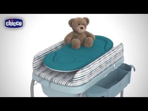 【小海豚】享免運*義大利進口Chicco Cuddle & Bubble洗澡尿布台.浴盆.泡泡水藍/雨灰/粉綠.專櫃公司