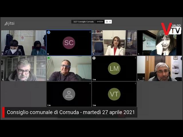 Consiglio comunale di Cornuda - martedì 27 aprile