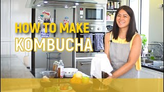 How to make KOMBUCHA // Alice Dixson