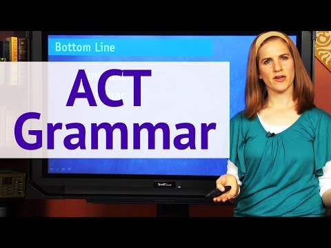 ACT Grammar - Top Punctuation Rules - Brightstorm ACT Prep