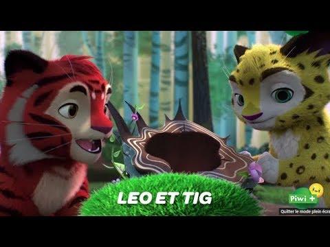 Leo Et Tig Episode La Grotte Mystérieuse Ton Nouveau Dessin Animé Sur Piwi Et Mycanal