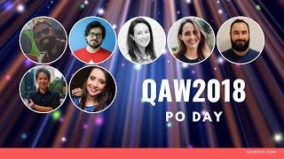 QA Week 2018 - Product Owner: Conciliando a visão de produto com a qualidade. (Continua...)