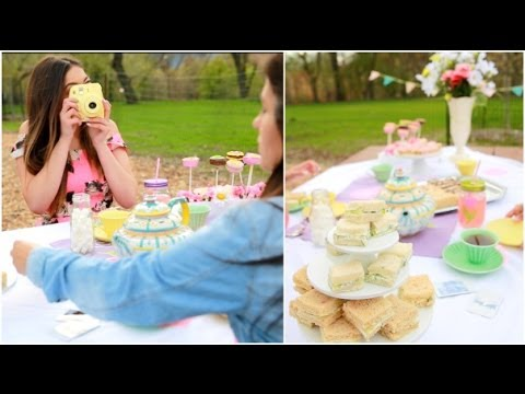 DIY Mother\u0027s Day Tea Party, Gift Ideas + giveaway! - YouTube