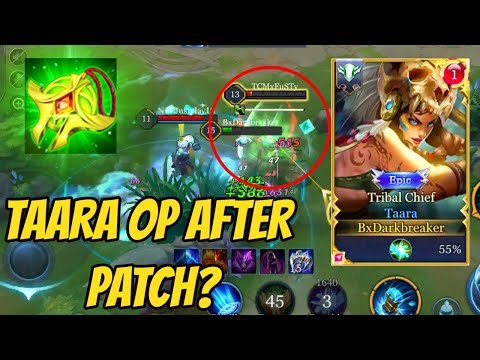 TAARA OP AFTER UPDATE? | AoV | 傳說對決 | RoV | Liên Quân Mobile | 펜타스톰