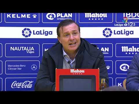 Rueda de prensa de Cristobal Parralo tras el AD Alcorcón vs Real Zaragoza (2-0)