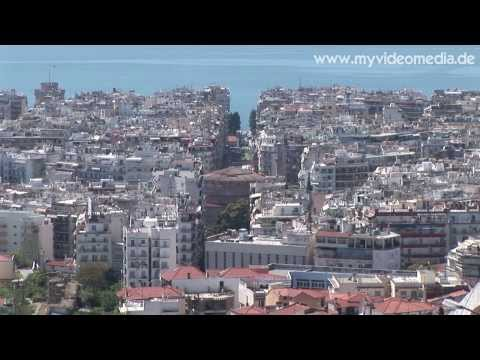Thessaloniki, City Walls - Greece HD Travel Channel