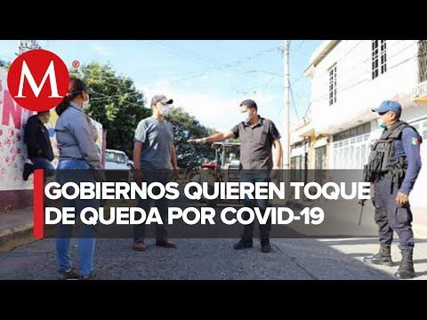 ¿El toque de queda es legal en México ante covid-19?