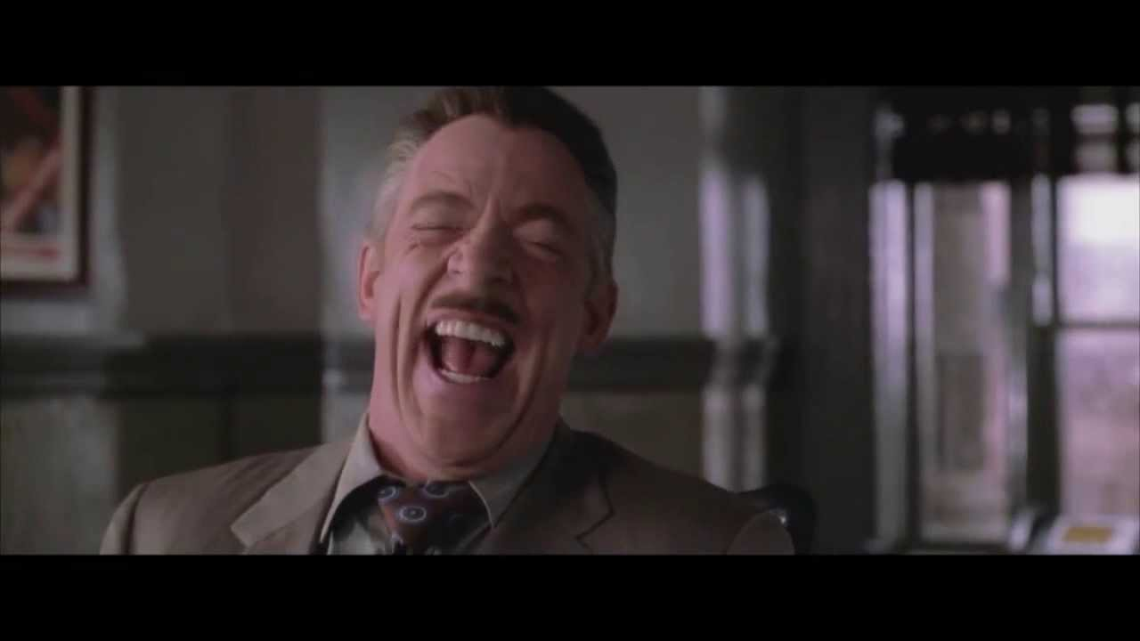 YTP - JJ Jameson Laughs at Spidermans Misfortune
