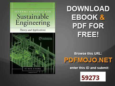 Systems analysis for sustainable engineering theory and applications systems analysis for sustainable engineering theory and applications green manufacturing amp syste fandeluxe Choice Image