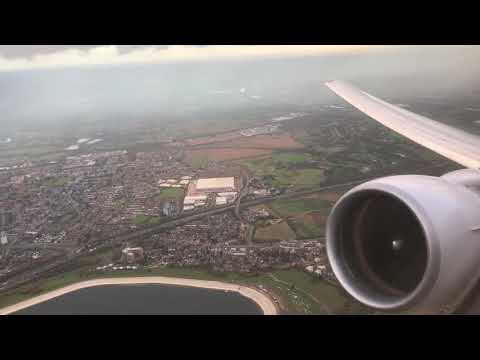 ENGINE ROAR! - United Airlines B777-200 Takeoff from LHR, Polaris First