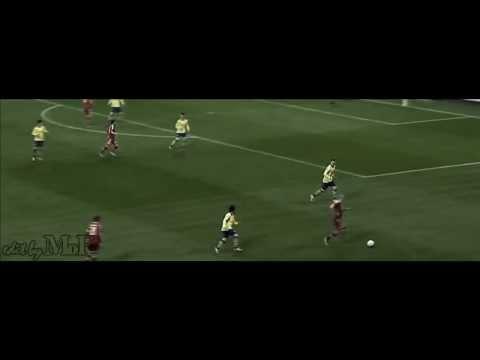 Arjen Robben epic dive in the match vs Arsenal