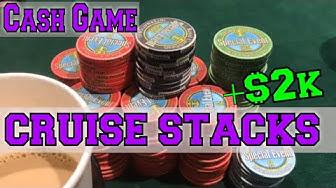Insane Cash Game on Poker Cruise (Gambling Vlog #67)