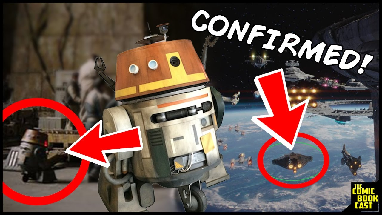 Star Wars Rebels Chopper The Ghost Confirmed In Rogue One Youtube