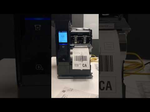 Honeywell PX940 Barcode Label Verification Printer In Action | Liberty Systems