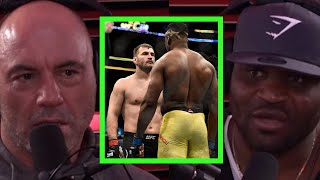 Francis Ngannou  on First Fight Against Stipe \u0026 Starting MMA