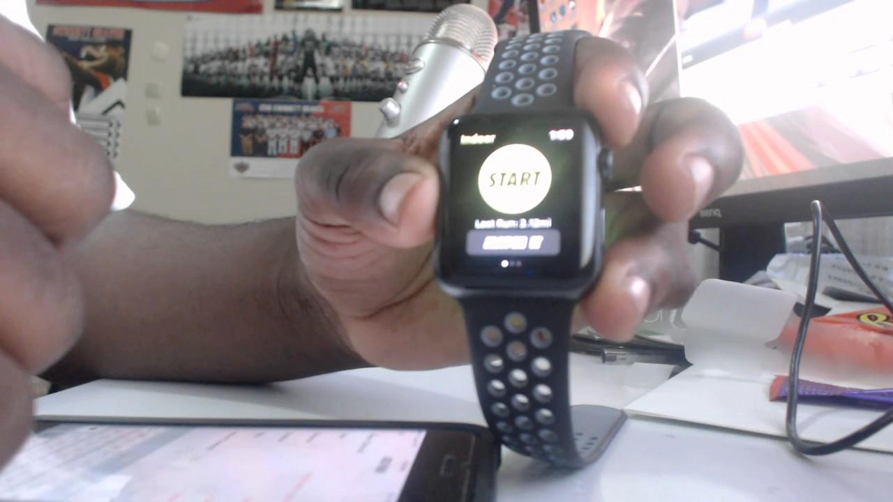 risparmi fantastici uomo Prezzo di fabbrica 2019 Apple Watch Nike+ / Nike Run club test - YouTube