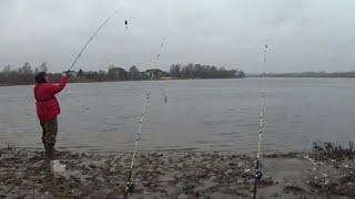 Рыбалка на донки,зимняя рыбалка на донки по открытой воде в январе 2020 г в крещение.