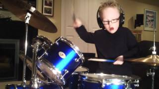 jaxon smith tool right in two acoustic kit 6 year old self taught drummer