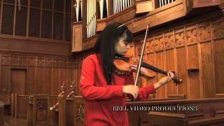 Daisy Violin Op.6 - Dr. Carol Williams - Annelle Gregory, Violin