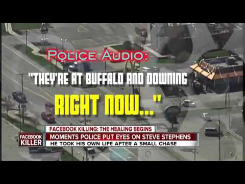 Police tapes reveal final seconds of Facebook killer's chase by Pennsylvania State Police