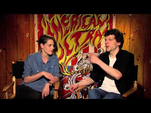 """My Fun Interview with Kristen Stewart and Jesse Eisenberg for """"American Ultra"""""""