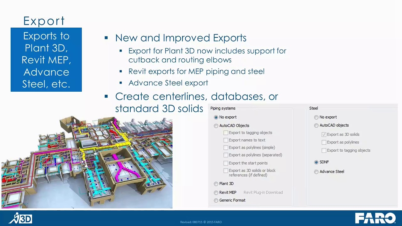 Webinar-As-Built Tools for Modelling Pipes and Beams - General