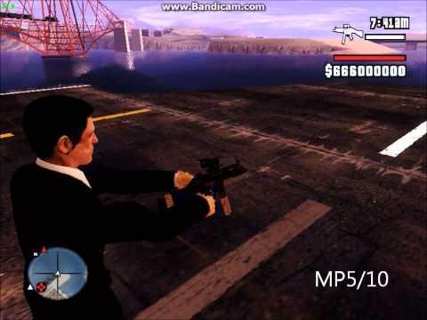 GTA SA: Realistic Weapon Sounds V7.1 - No Rain Bug