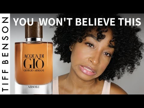 Acqua Di Gio Absolu | You Won't Believe This