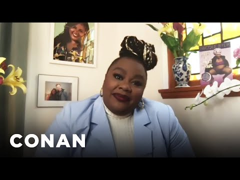 Nicole Byer On Finding Humor In Pain - CONAN on TBS