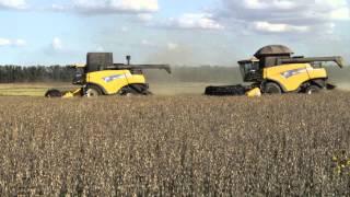 Fazenda modelo em Bagé (RS) utiliza somente tecnologias New Holland em maquinário agrícola.