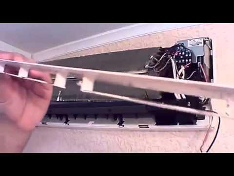 Как разобрать внутренний блок кондиционер panasonic установка кондиционеров чебоксарах
