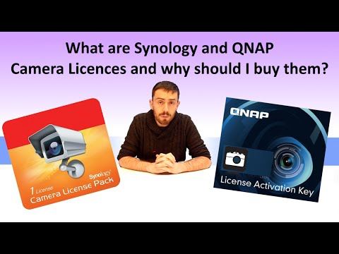 What are Synology and QNAP Camera Licences and why should I