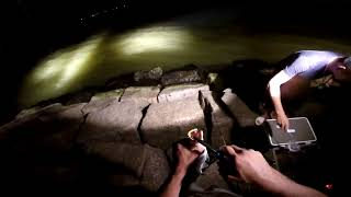 Texas City Dike fishing (Specks at night) GoPro Hero3+ 720p HD