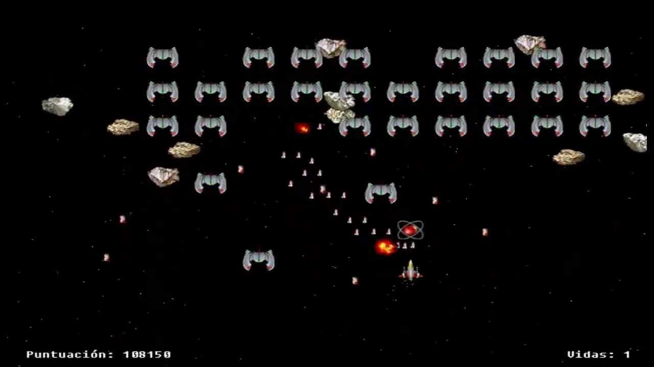 Los Juegos De Los 80 Siguen Dando Guerra Space Invaders Youtube