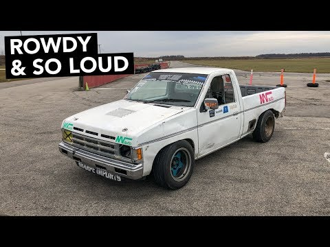 Nissan Hardbody Drift Truck Track Review