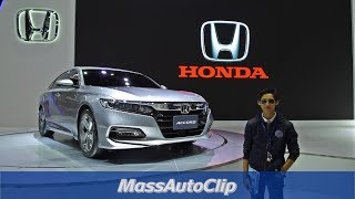 All New Honda Accord 2019 มาแล้ว [Clip Full HD]
