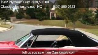 1962 Plymouth Fury Sport for sale in Nationwide, NC 27603 at #VNclassics