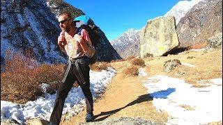An Intense Day of Hiking on the Langtang Trek, Nepal