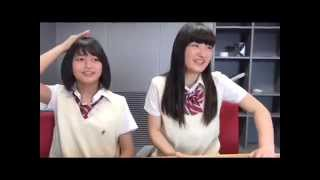 Kitano Ruka vs Takatsuka Natsuki SKE48 1+1は2じゃないよ! 2015年06...