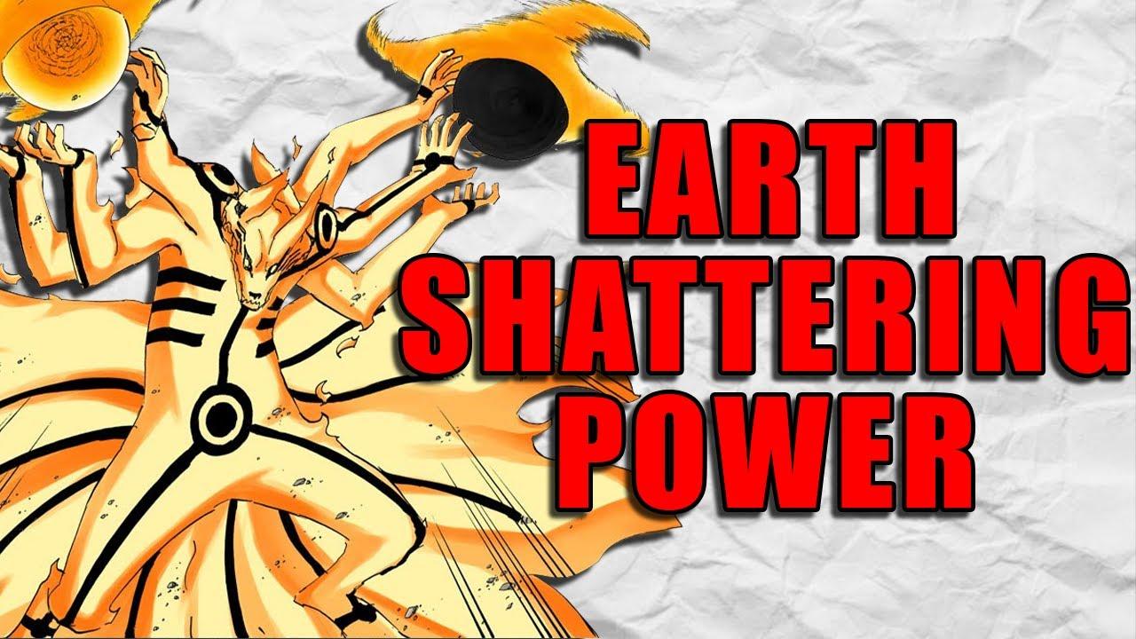 Can Naruto Destroy a Planet?